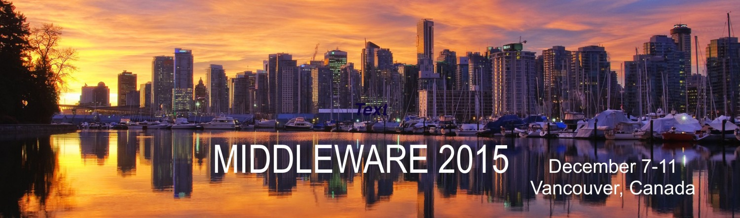 Middleware 2015